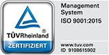 zertifikate DIN ISO 9001:2015